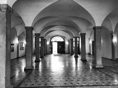 Foyer Schloss Erlangen S/W