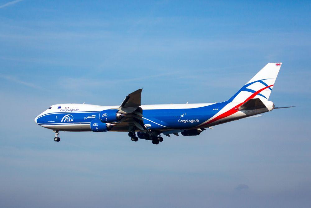 Frachtmaschine Boeing 747-83Q(F)