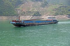 Frachtschiff auf dem Jangtse (Jangtsekiang) -3-