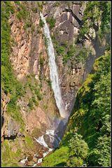 Fragsburg Wasserfall