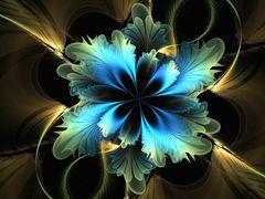 Fraktale Blaukrautblüte :-)
