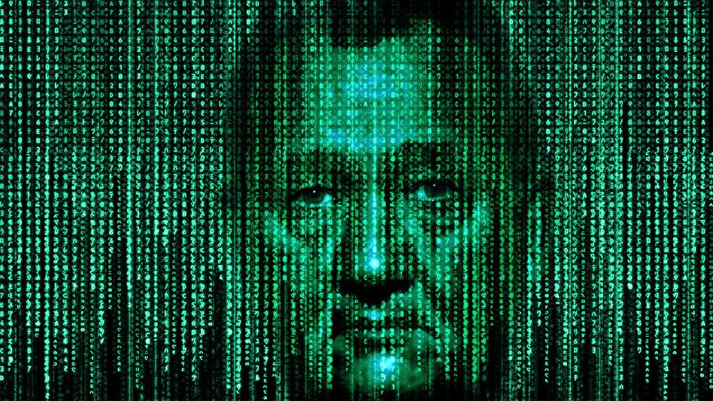 Frank in der Matrix