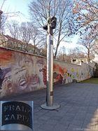 Frank Zappa Memorial in Vilnius
