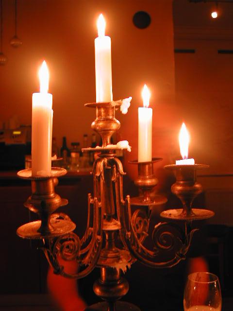 Frankensteins Kerzenleuchter
