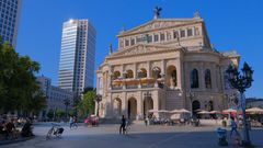 Frankfurt, Alte Oper (Frankfurt, la ópera)