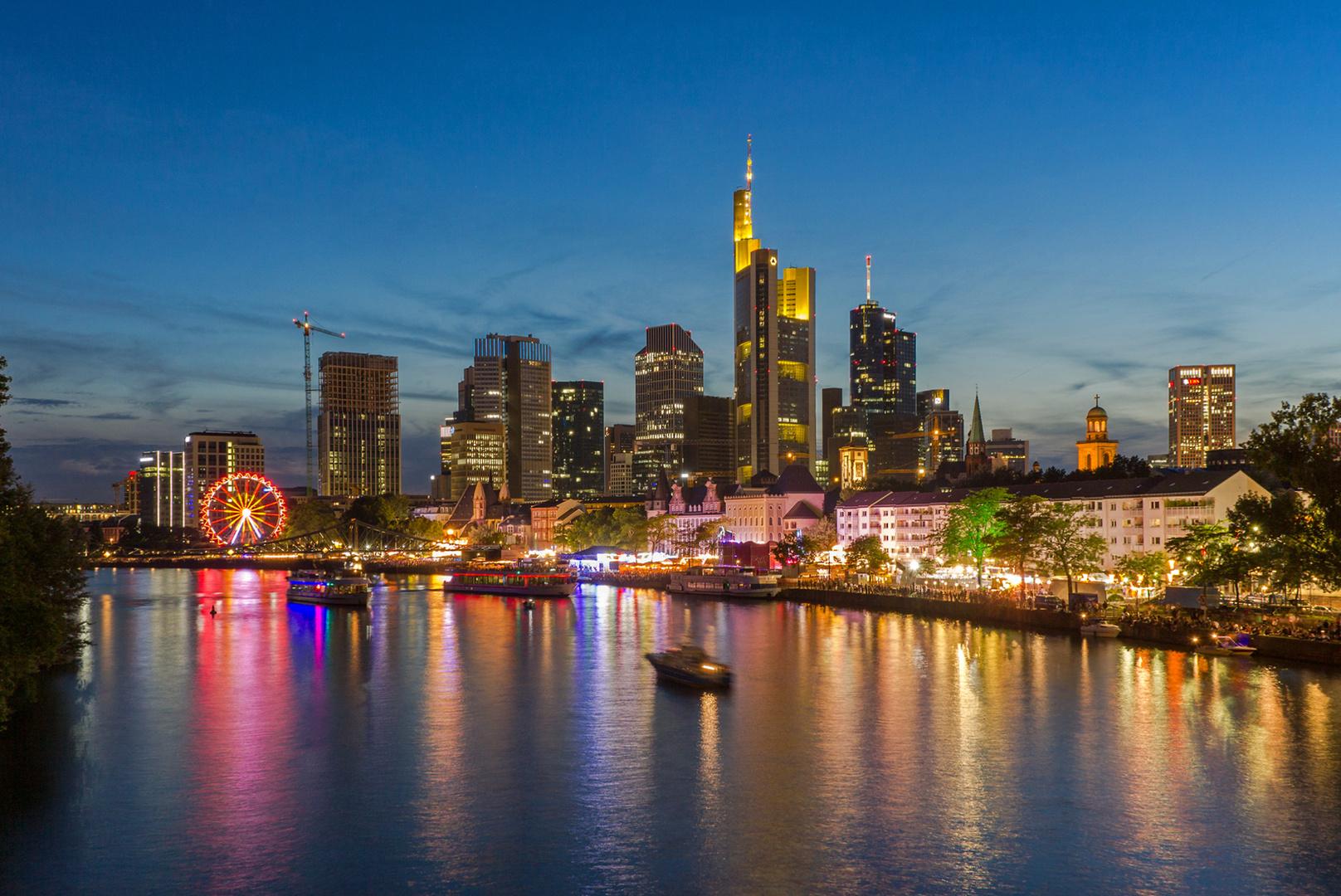 Frankfurt am Main beim Mainfest 2017 Foto & Bild