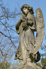Frankfurt am Main, Hauptfriedhof: Der betende Engel
