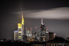 Frankfurt am Main Night Skyline