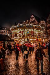 Frankfurt am Main - Weihnachtsmarkt am Römer