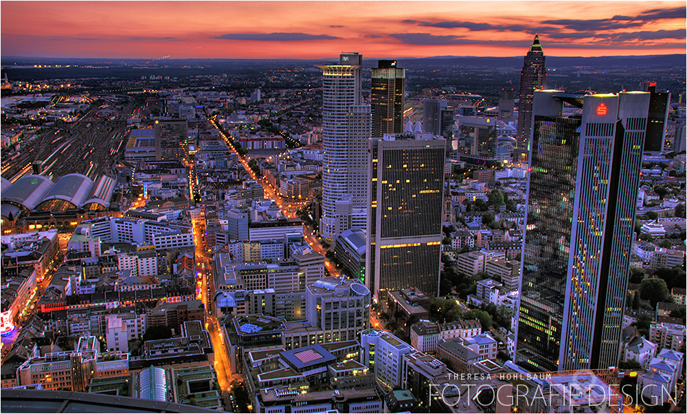 ~ Frankfurt am Main zur blauen Stunde ~