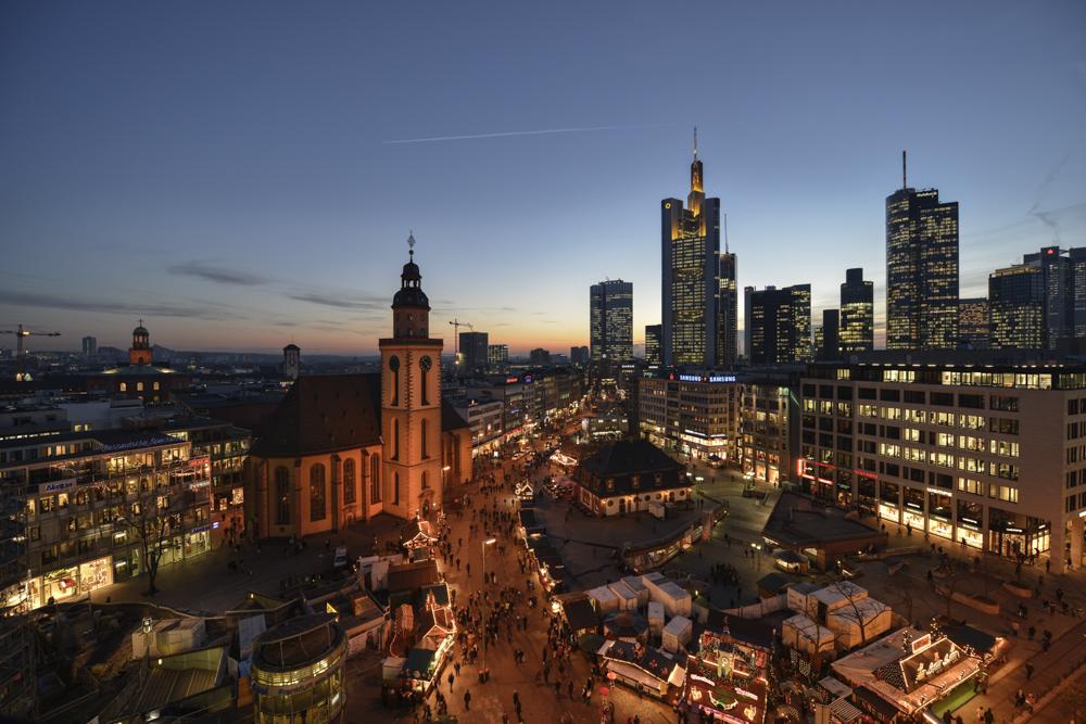 Parkhäuser In Frankfurt Innenstadt