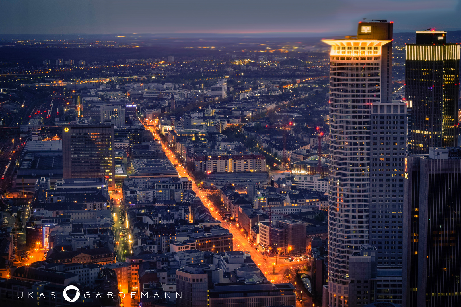 Frankfurt - Aussicht vom Maintower