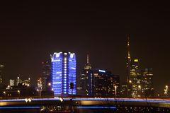 Frankfurt bei Nacht