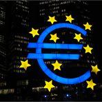 Frankfurt bei Nacht - EZB