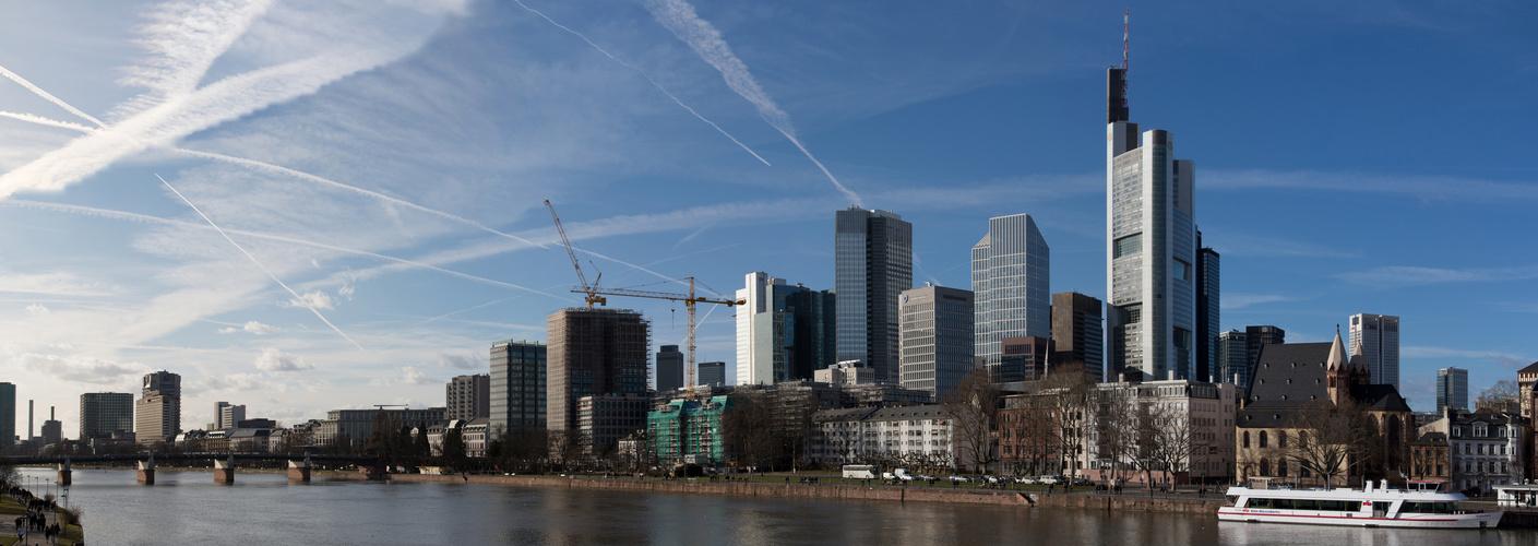 Frankfurt - Blick vom Eisernen Steg