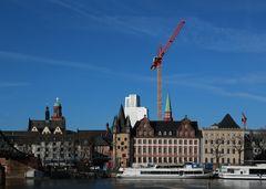 Frankfurt - Blick vom Eisernen Steg (III)
