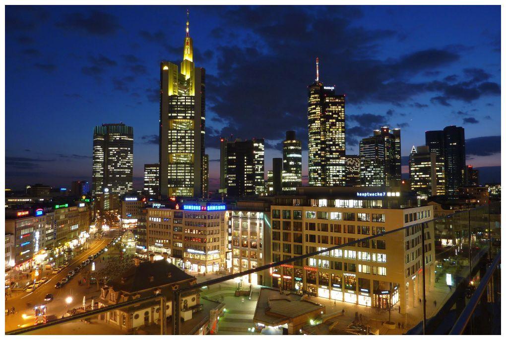 Frankfurt - Blick von der Zeil-Galerie
