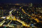 Frankfurt City bei Nacht