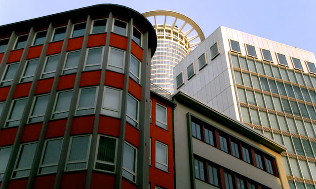 Frankfurt DZ-Bankturm Ansicht 1