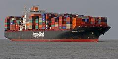 Schiffe vor Cuxhaven
