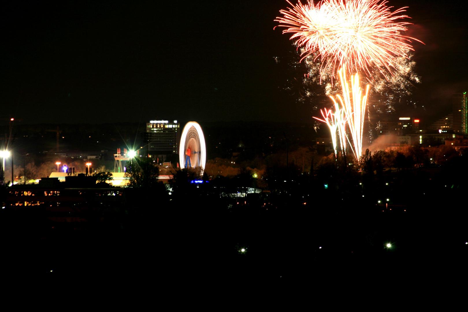 Frankfurt Feuerwerk