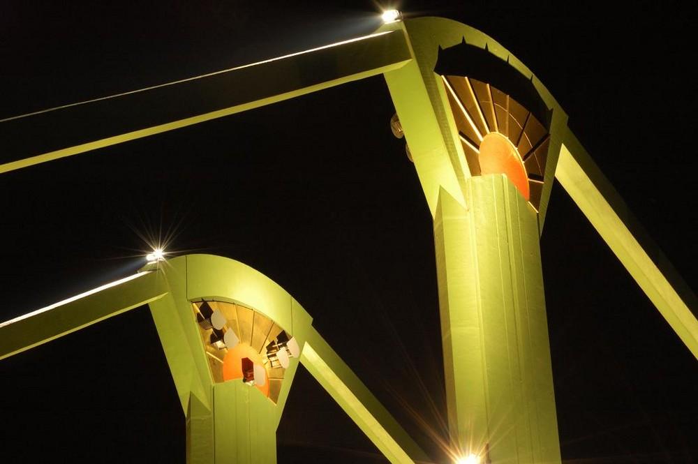 Frankfurt, Flösser-Brücke