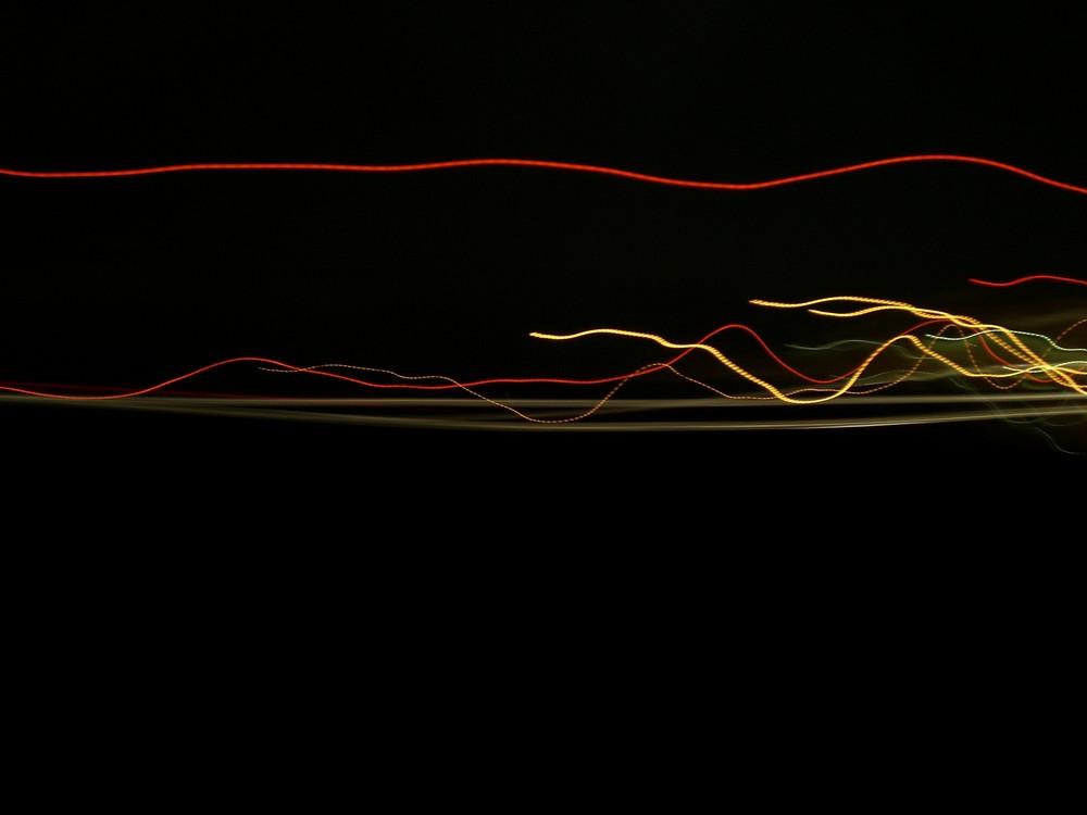 Frankfurt Flughafen bei Nacht und 180 km/h auf der Autobahn ;-)