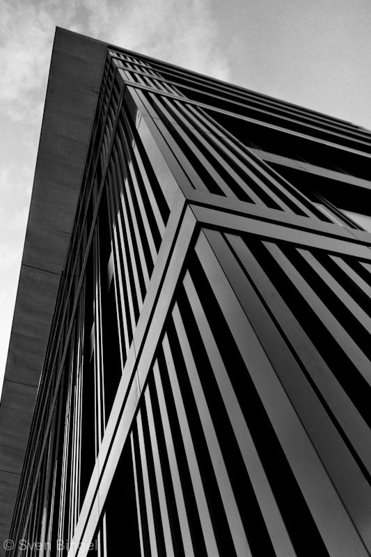Frankfurt Gebäude im Osthafen
