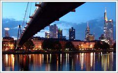 Frankfurt gestern abend.