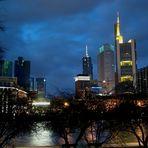Frankfurt in the Night . . .