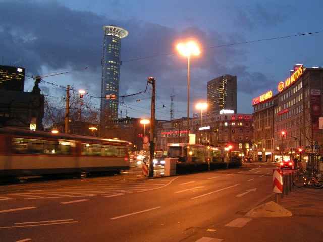 Frankfurt (Main) abends / in the evening