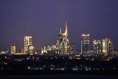Frankfurt mit Hochspannung