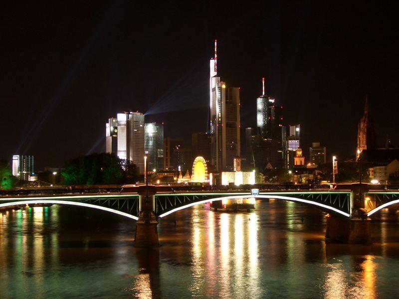 Frankfurt @ Night Skyline