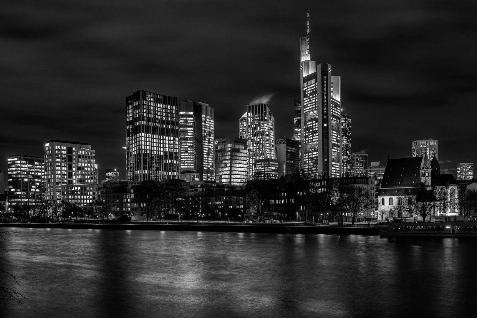 Frankfurt ohne Farbe