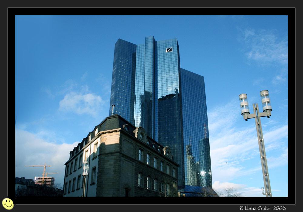 Frankfurt old meets new