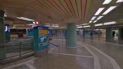 """Frankfurt, S-Bahnstation """"Alte Wache"""" (Frankfurt, la estación del metro """"Alte Wache"""")"""