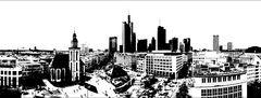 Frankfurt schwarz-weiß