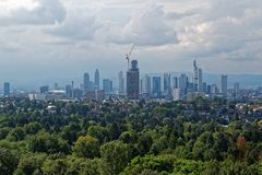 Frankfurt Skyline mal von woanders