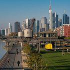 Frankfurt-Skyline, Osthafen