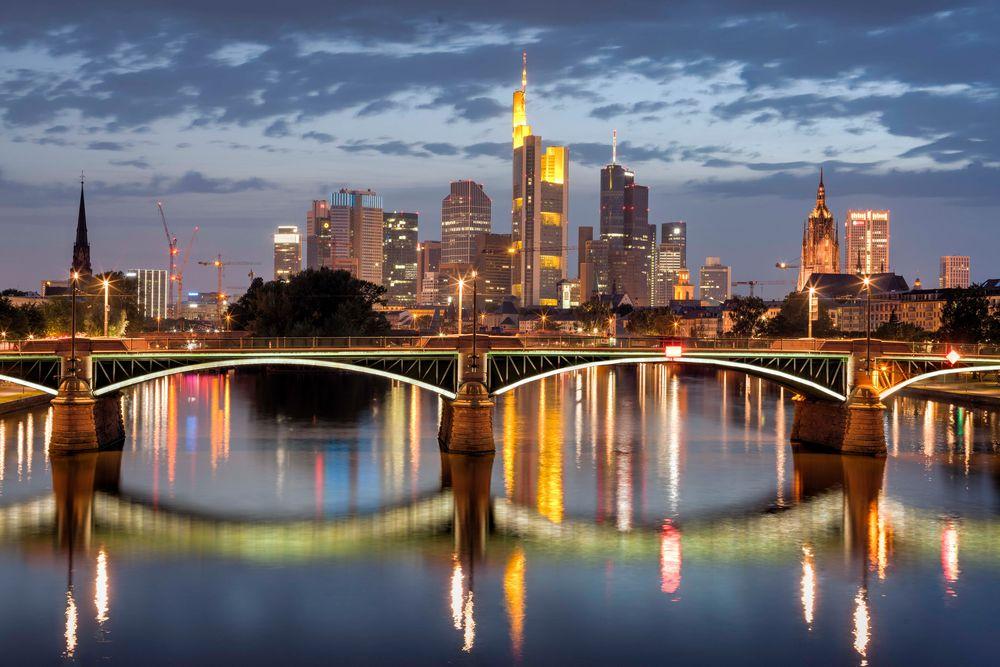 Flößerbrücke Frankfurt