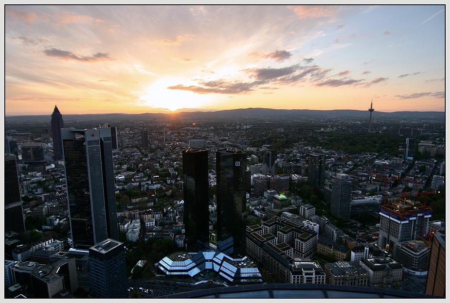 Frankfurt sundown
