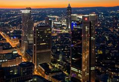 Frankfurt vom Maintower (reloaded)