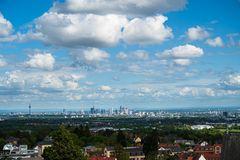 Frankfurt von der Kronberger Burg