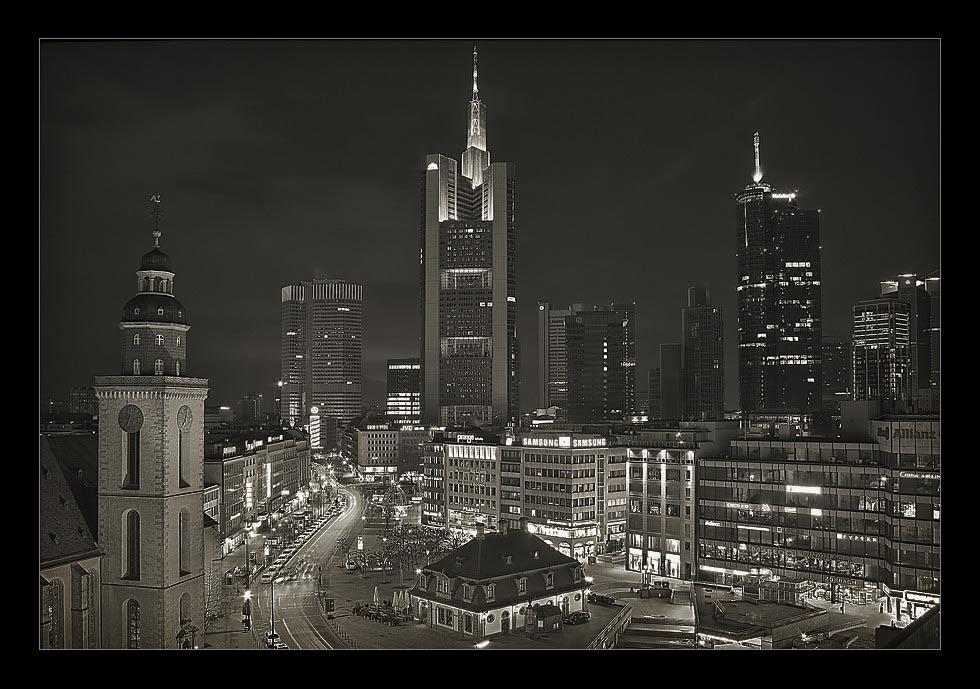 Frankfurt von der Zeil Galerie