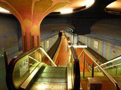 Frankfurt, Westend Metro Station