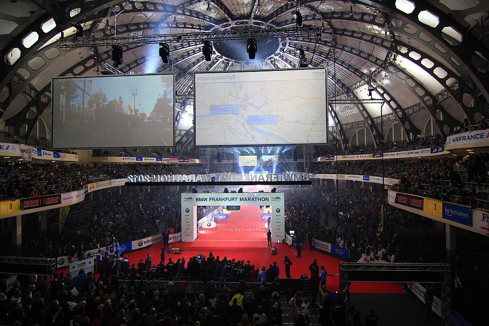 Frankfurt Festhalle Saalplan