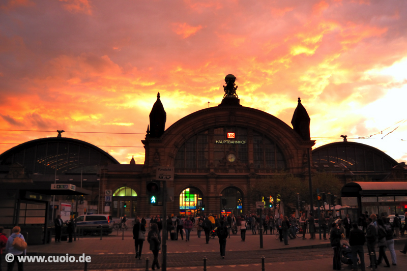 Frankfurter Hauptbahnhof...