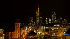 Frankfurter Innenstadt: Hauptwache und Skyline