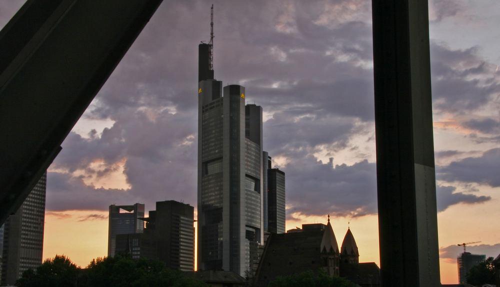 Frankfurter Skyline ...