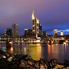 Frankfurter Skyline Wallpaper